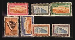 1946 Brazil UPAE UPAEP Plane Congress Mnh Stamp ** Michel #686-692 €20 (A_4269) - Brazilië