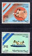 XP129 - SOMALIA 1972 , Yvert N. 143/144  ***  Peste Bovina - Somalia (1960-...)