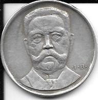 Médaille Hindenburg 1925 Ich Reiche Jedem Deutschen Die Hand Argent - Allemagne