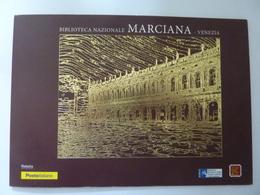 "Folder ""BIBLIOTECA NAZIONALE MARCIANA VENEZIA"" Tiratura  6.699 Pezzi - Paquetes De Presentación"
