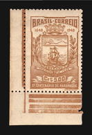 1948 Paranagua Ship Boat And Coat Of Arms Brazil MNH Stamp Cv$7 (A_4269) - Maritiem