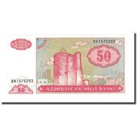 Billet, Azerbaïdjan, 50 Manat, Undated (1992), KM:17b, NEUF - Azerbaïjan