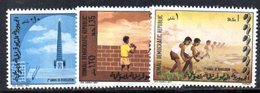 XP201 - SOMALIA 1971 , Yvert N. 138/140 ***  Rivoluzione - Somalia (1960-...)