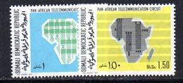 XP199 - SOMALIA 1971 , Yvert N. 132/133 *** - Somalia (1960-...)