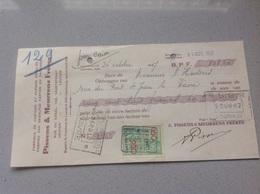 Louvain Boîtes Rouleaux Feuilles Emballages Pissens Meurrens1937 - Belgique