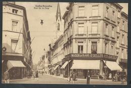 +++ CPA - Bruxelles - IXELLES - ELSENE - Rue De La Paix - P.I.B.    // - Ixelles - Elsene