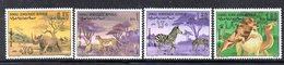 XP231 - SOMALIA 1971 , Yvert N. 134/137 ***  Animali Selvaggi - Somalia (1960-...)