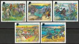 1995 Somalia Cinema Centenario Del Cinema Centenary Of The Cinema Centenaire Du Cinèma Set MNH** - Somalia (1960-...)
