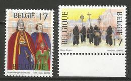 Belgium - 1999 Tourism & Folklore MNH ** - Unused Stamps