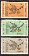 Cept 1965 Chypre Cyprus  Yvertn° 250-52 *** MNH  Cote 50 Euro - Chypre (République)
