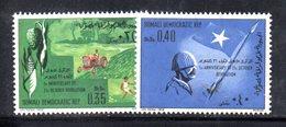 XP243 - SOMALIA 1970 , Yvert N. 124/127  ***  Rivoluzione - Somalia (1960-...)