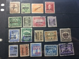 Ecuador - Early Collection Of Overprints - Ecuador