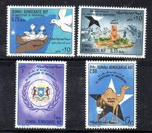 XP251 - SOMALIA 1970 , Yvert N. 120/123  ***  Indipendenza - Somalia (1960-...)