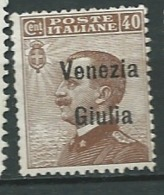 Trieste Venitie Julienne   - Yvert N° 25 * -   Po61326 - Nuevos