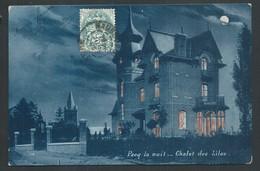 +++ CPA - PECQ La Nuit - Chalet Des Lilas - Couleur 1905  // - Pecq