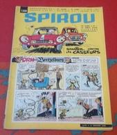 Spirou N° 1208 Juin 1961 Rubrique Starter La Jaguar Type E Mécanique Course Pour Le Client - Spirou Magazine