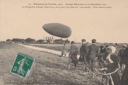 60210 GRANDVILLIERS  BRIOT - DIRIGEABLE CLEMENT BAYARD MANOEUVRES DE PICARDIE AVIATION En 1910 - Manifestations