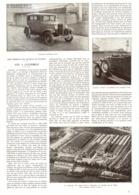 LES   ( FORD ) 4 CYLINDRES Usines FORD à ASNIERES  1931 - Transportation
