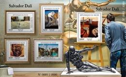NIGER 2015 SHEET SALVADOR DALI ART PAINTINGS ARTE PINTURAS Nig15423c - Niger (1960-...)