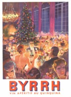 """PUB  """" BYRRH """" Par FALCUCCI  1941  ( 22  ) - Autres Collections"""