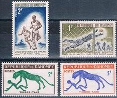 Benin - Dahomey 1963  -  Yvert 193 + 194 + Taxas 33 + 34  HMN ( ** ) - Benin – Dahomey (1960-...)
