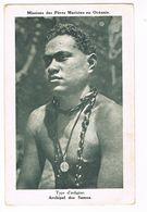 CPA.Océanie.Samoa.Type D'indigène .Missions Des Pères Maristes. (F.234) - Samoa