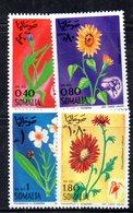 XP1739 - SOMALIA 1969 , Yvert N. 103/106  ***  Fiori - Somalia (1960-...)