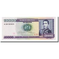 Billet, Bolivie, 10,000 Pesos Bolivianos, D.1984, 1984-02-10, KM:169a, NEUF - Bolivie