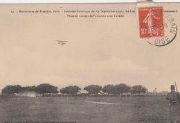 60210 GRANDVILLIERS BRIOT - LIEUTENANT SIDOT MANOEUVRES DE PICARDIE AVIATION En 1910 - Manifestations