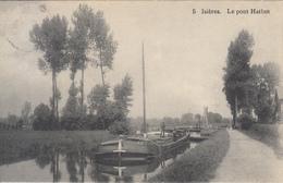 Isières - Le Pont Hathot (animée, Péniche) - Ath