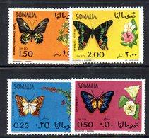 XP3259 - SOMALIA 1969 , Yvert N. 113/116  ***  Farfalle Papillon - Somalia (1960-...)