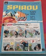 Spirou N° 1237 Décembre 1961 Rubrique Starter Chrysler Turboflite Un Monsieur Sérieux Habillé En Clown - Spirou Magazine