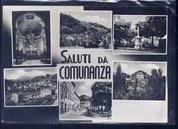 COMUNANZA-SALUTI-VEDUTINE-VIAGGIATA 1958 - Ascoli Piceno