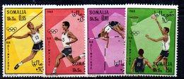 XP3310 - SOMALIA 1968 , Yvert N. 96/99  ***  Messico - Somalia (1960-...)