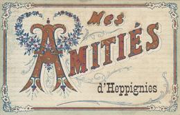 Heppignies(d') Mes Amitiés (colorisée, VPF 1907) - Fleurus