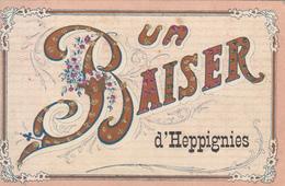 Heppignies(d') Un Baiser (colorisée, VPF 1907) - Fleurus