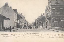 Ath - La Rue Defacqz (belle Animation, 1904) - Ath