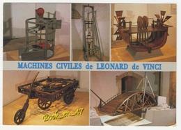{80361} Au Clos Luce D' Amboise , Les Fabuleuses Machines De Léonard De Vinci ; Turbine Pont Tournant Automobile - Musées