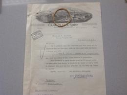 Barmen-Rittershausen Usine Manufacture Pour Chapeaux Carl Paas -Sohn 1930 Originale - Deutschland