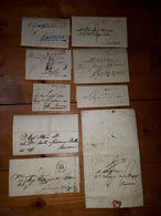 1793/ 1860 Lotto Di 16 Lettere Per RAVENNA FERRARA FORLI' FAENZA - 1. ...-1850 Prefilatelia