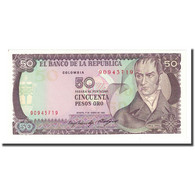 Billet, Colombie, 50 Pesos Oro, 1985-01-01, KM:425a, NEUF - Colombie
