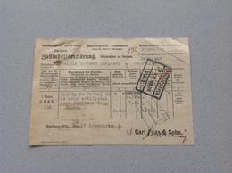 Barmen-Rittershausen Usine Manufacture Pour Chapeaux Carl Paas -Sohn 1930 Originale - 1900 – 1949
