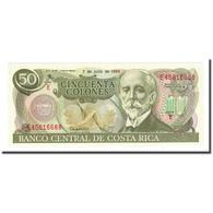 Billet, Costa Rica, 50 Colones, 1993-07-07, KM:257a, NEUF - Costa Rica