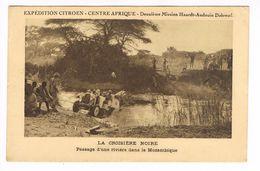 CPA.Mozambique.Expédition Citroën Centre Afrique.Passage D'une Rivière. (F.246) - Mozambique