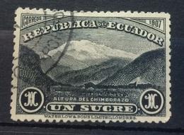 Ecuador 1908 Mount Chimborazo - Guatemala