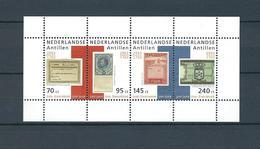 Netherlands Antilles, 2003, Joh Enschede Printers 4v M/s   MNH - Antillas Holandesas