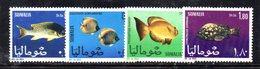 XP3711 - SOMALIA 1967 , Yvert N. 76/79  ***  MNH . Pesci Fish - Somalia (1960-...)