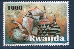 Rwanda, Timbre Oblitérés, 2010, Valeur Faciale 1000 - Autres