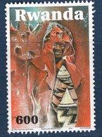 Rwanda, Timbre Oblitérés, 2010, Valeur Faciale 600 - Autres