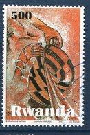 Rwanda, Timbre Oblitérés, 2010, Valeur Faciale 500 - Autres
